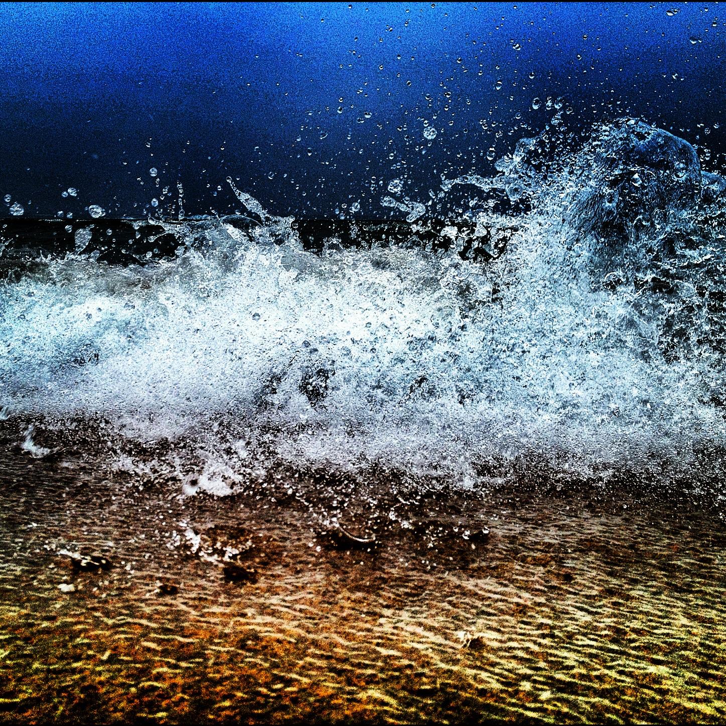 The Wave. Location: Lake Michigan,Grand Haven Beach