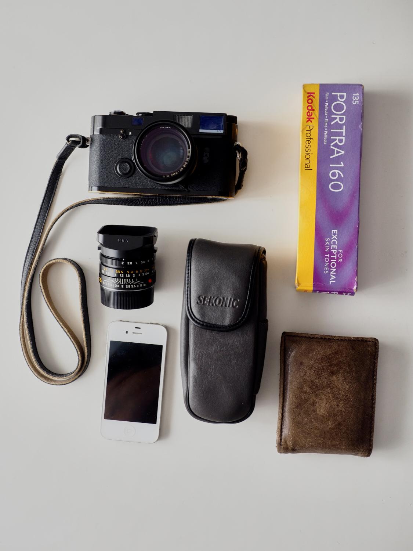 Equipo analógico de 35mm. © Daniel Belenguer