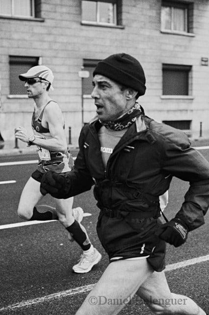 Corredores en el Maratón de Valencia. © Daniel Belenguer