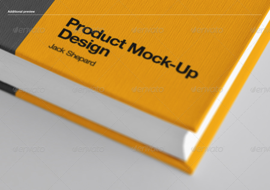 Book Cover Mockup template by Zeisla.