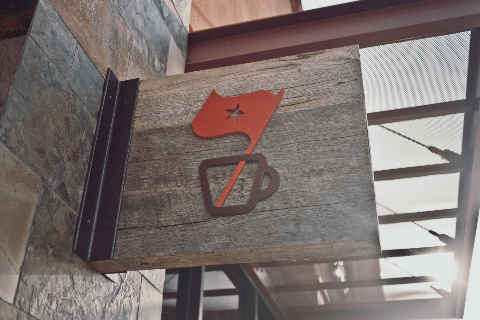 Espresso Republic Signage by Salih Kucukaga