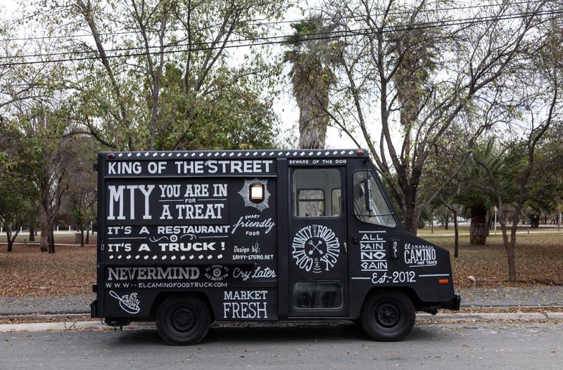 El Camino food truck by Savvy (via The Fox is Black)