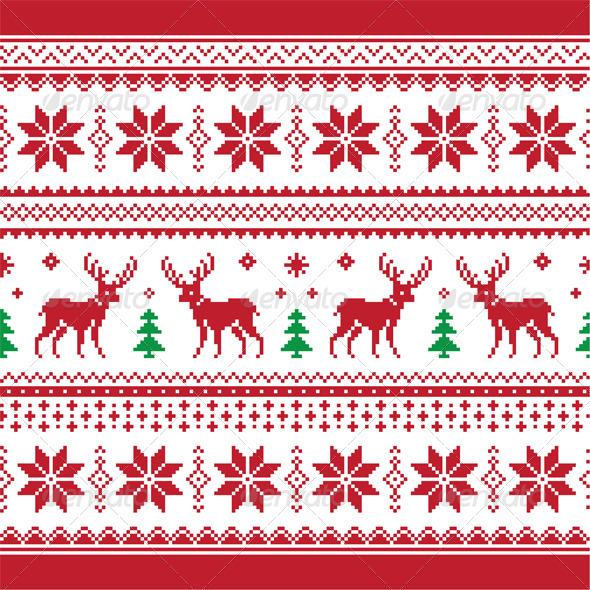 Christmas Knitting Pattern