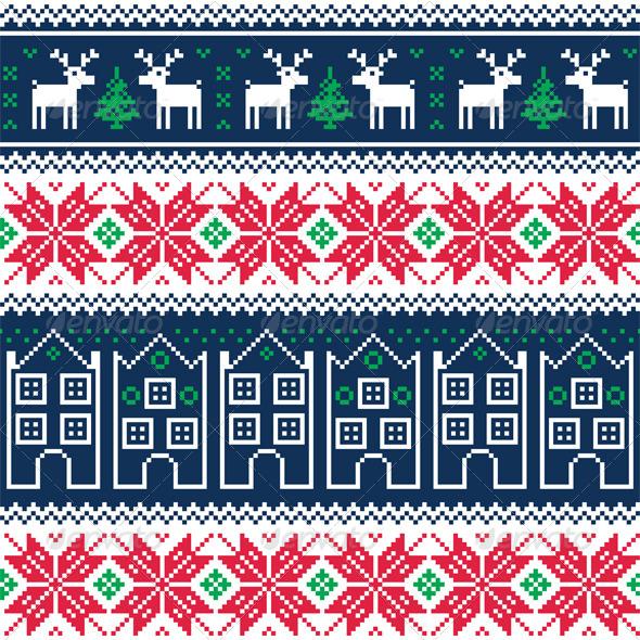 Nordic Christmas Pattern