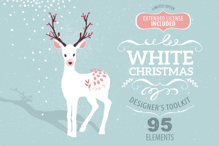 White Christmas Designer Toolkit ($25)