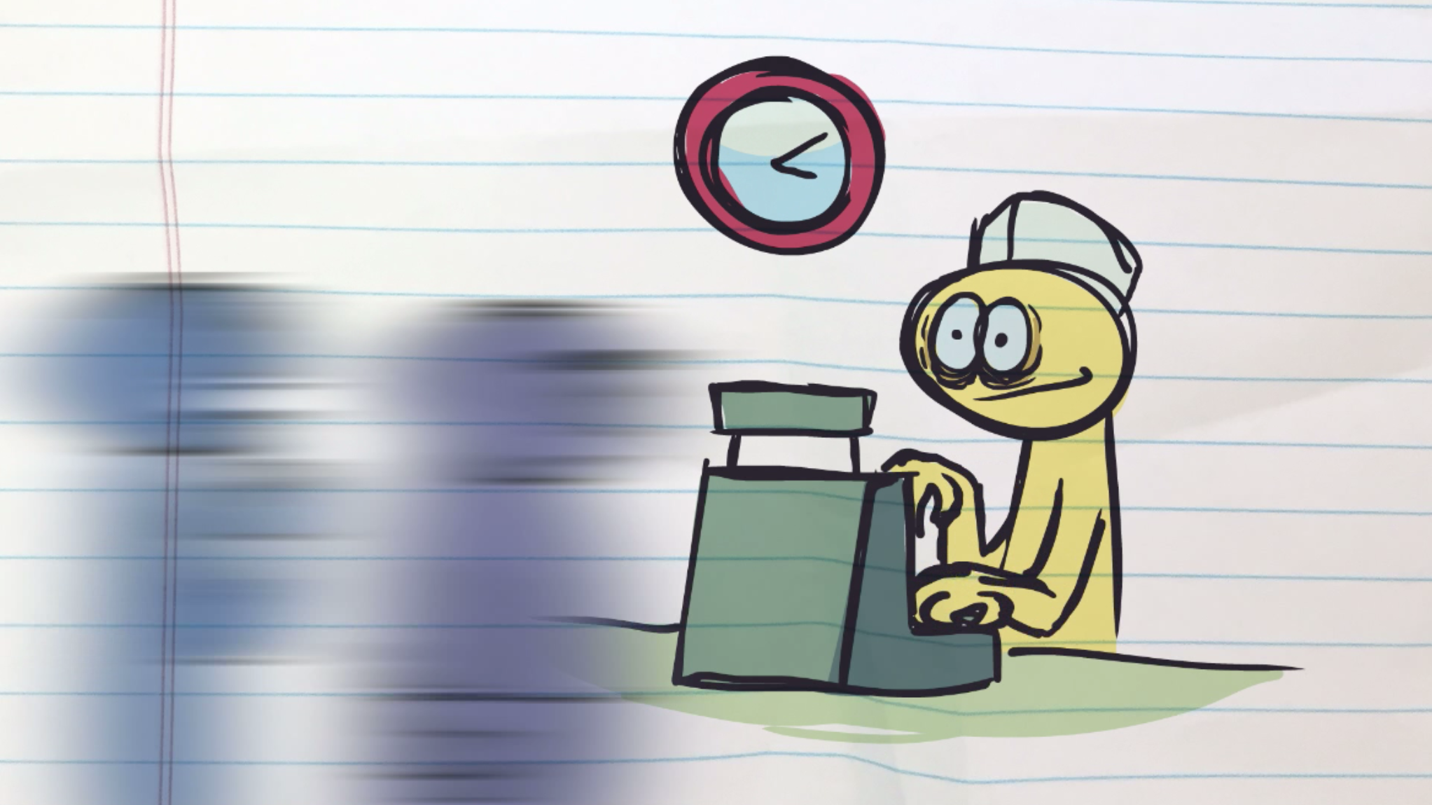 Thankfully, animation work is more rewarding than some alternatives.