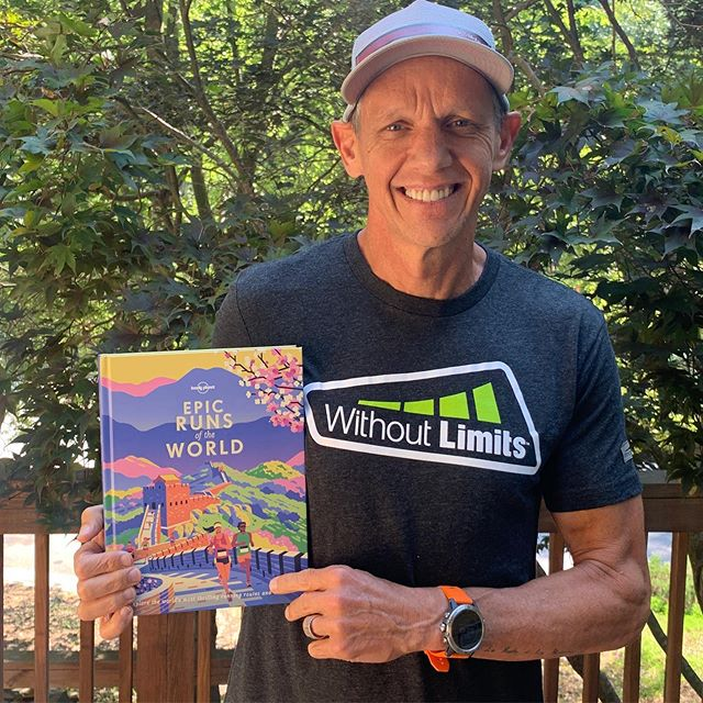 Lonely Planet's newest book is all about the Epic Runs. I was excited to be a contributor. This book is beautifully designed and crammed with info on some of the best runs on the planet. #epicrun #englerunningman #spartantrail #lonelyplanet #tmobile #trailtalk #withoutlimits #iamwithoutlimits #runningwriter #5point8project #green.org