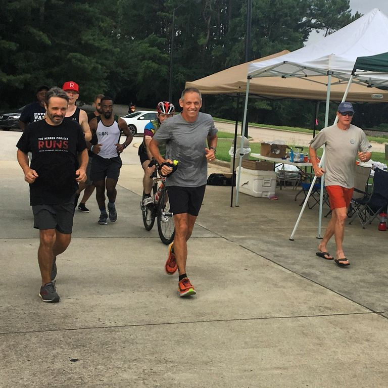 """""""Man Runs 26 Hours to Celebrate 26 Years of Sobriety""""     Charlie Engle ended up logging 118 miles as he shared his story of hope with his community.     Runners World,     By: MCGEE NALL,  AUG 5, 2018"""