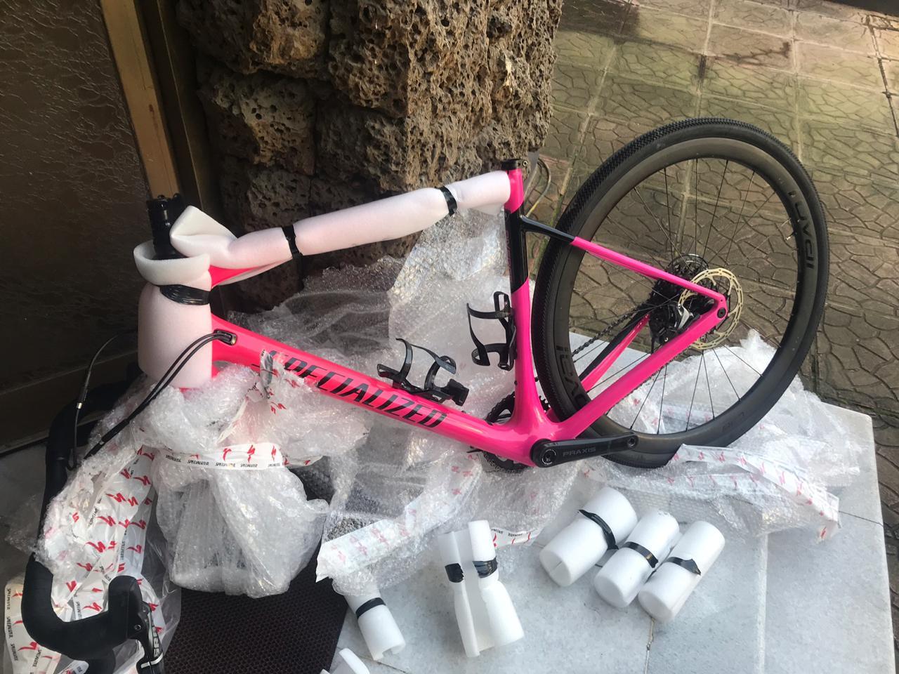 SURPRISE! It's a .... pink bike?