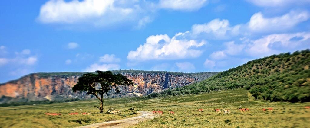 Hell's Gate National Park - Kenya