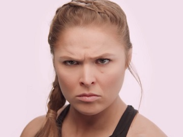 Twizzlers You Can't Be Serious - Ronda Rousey - CP+B