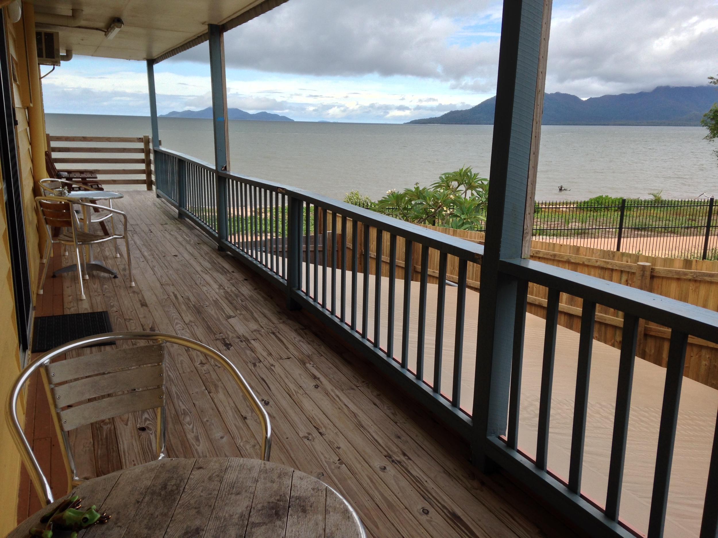 View from southside verandah