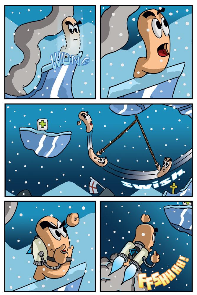 """Sudden Death"" page 5"