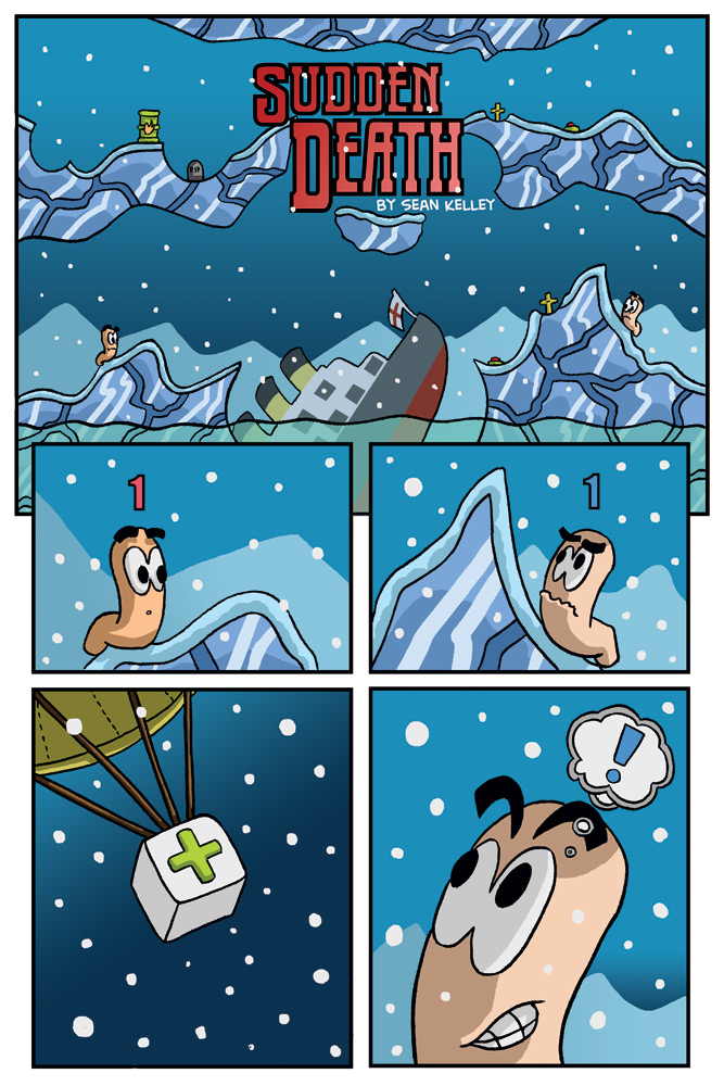 """Sudden Death"" page 1"