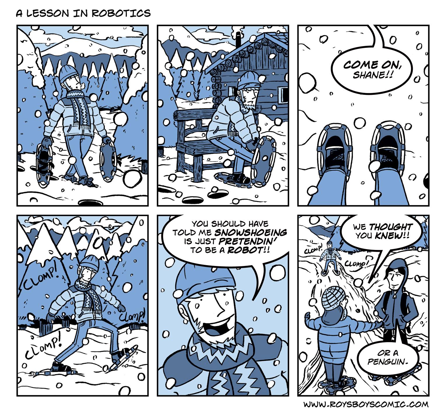 A Lesson in Robotics