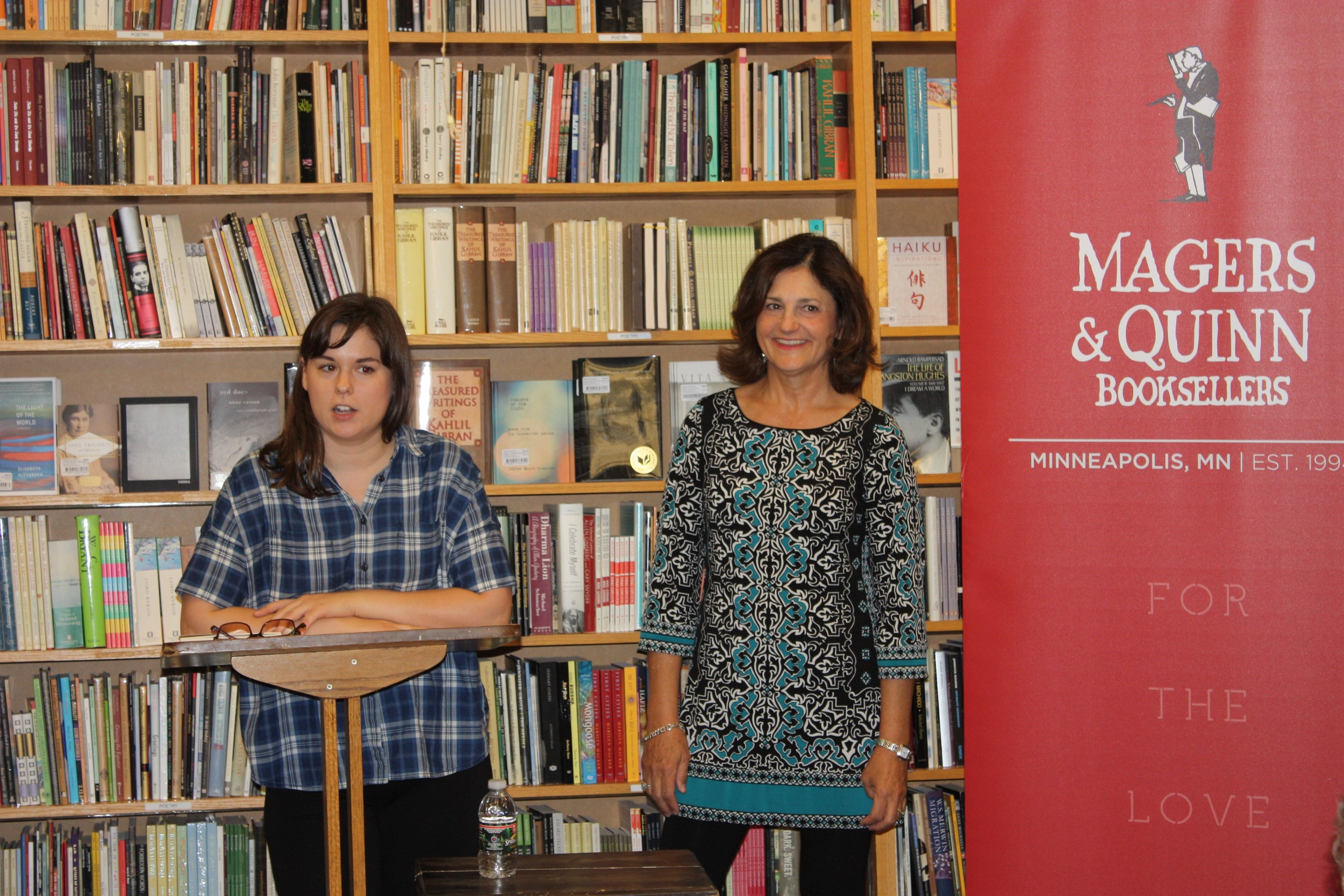 Magers & Quinn Booksellers Presentation in Minneapolis in July