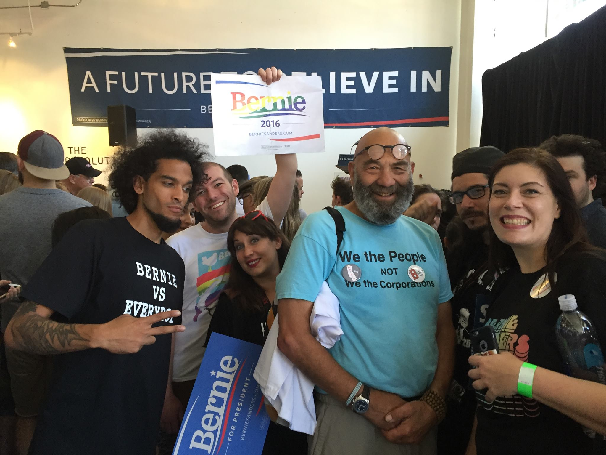Embedded with the Sanders Campaign in LA