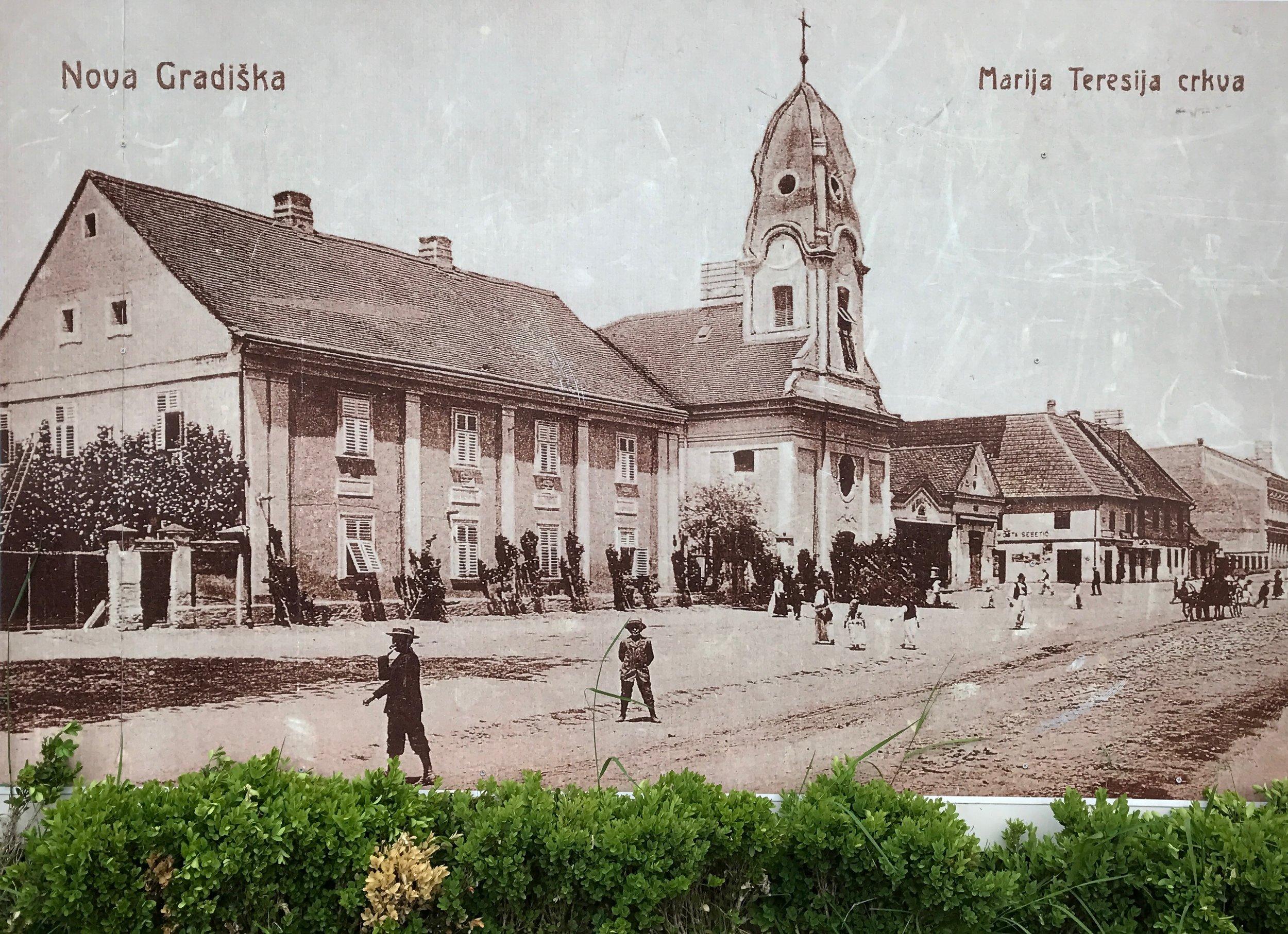 Marija Teresija Church - late 1800s?