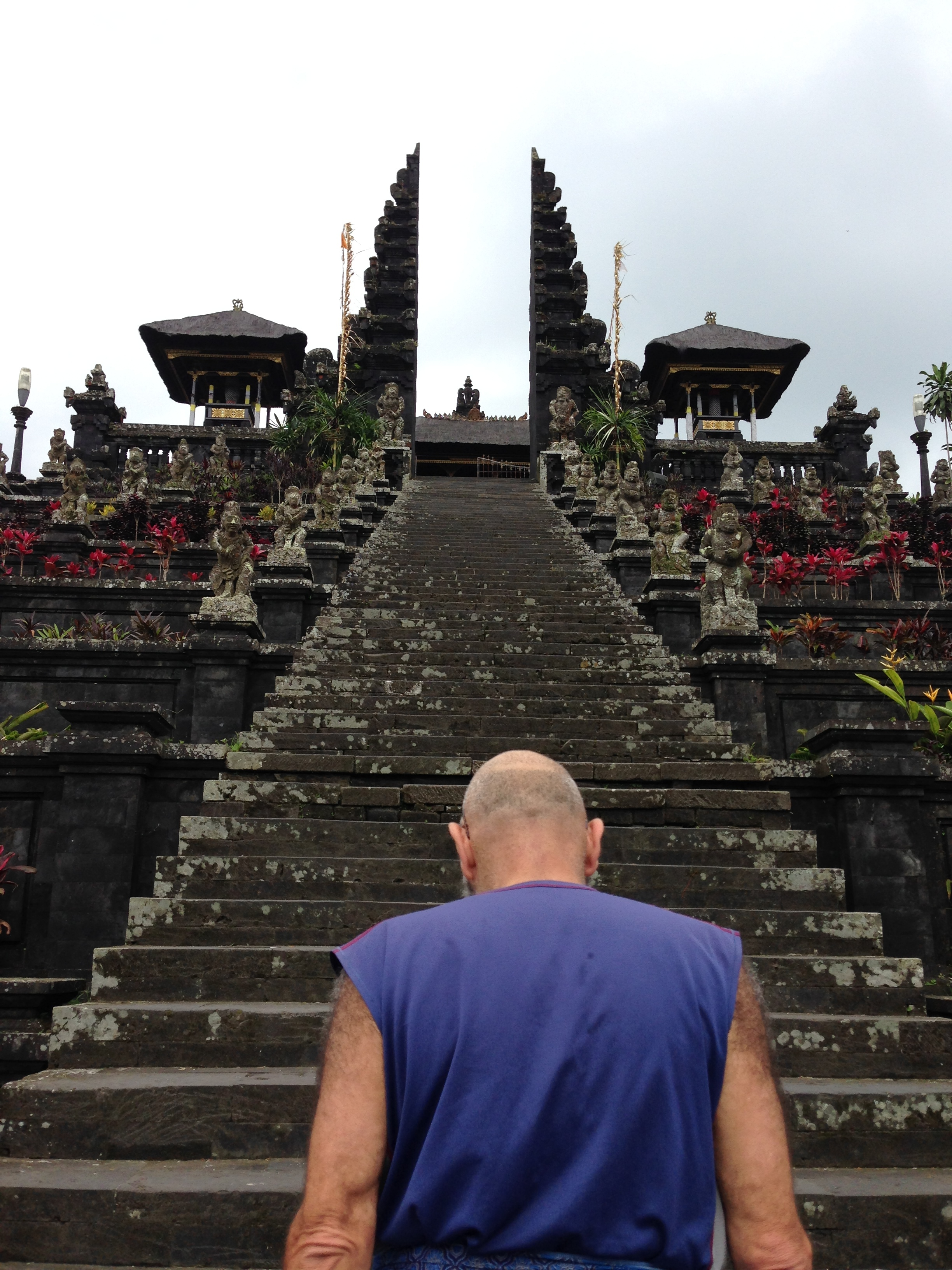 once upon a temple in bali...
