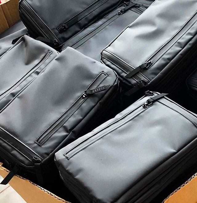 This toiletry bag by our client, @gravel , raised over $1M in crowdfunding 🚀. Explorer PLUS Toiletry Bags ready for delivery 📦. See more of our clients and services at: www.allitra.com. Email andrew@allitra.com with any questions or to set up an introductory phone call.