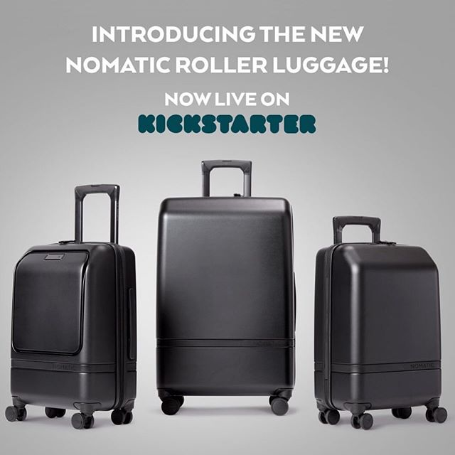 Wow! Our client, Nomatic, did it again! 1,500+ backers in less than 24hours! Much R&D went into this roller luggage line and we couldn't be more stoked for @nomatic ! 36 more days in their 8th successful Kickstarter 🚀. Make your pledge today!