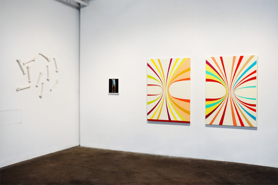 Installation view of  Yabba Dabba  at Kidd Yellin.