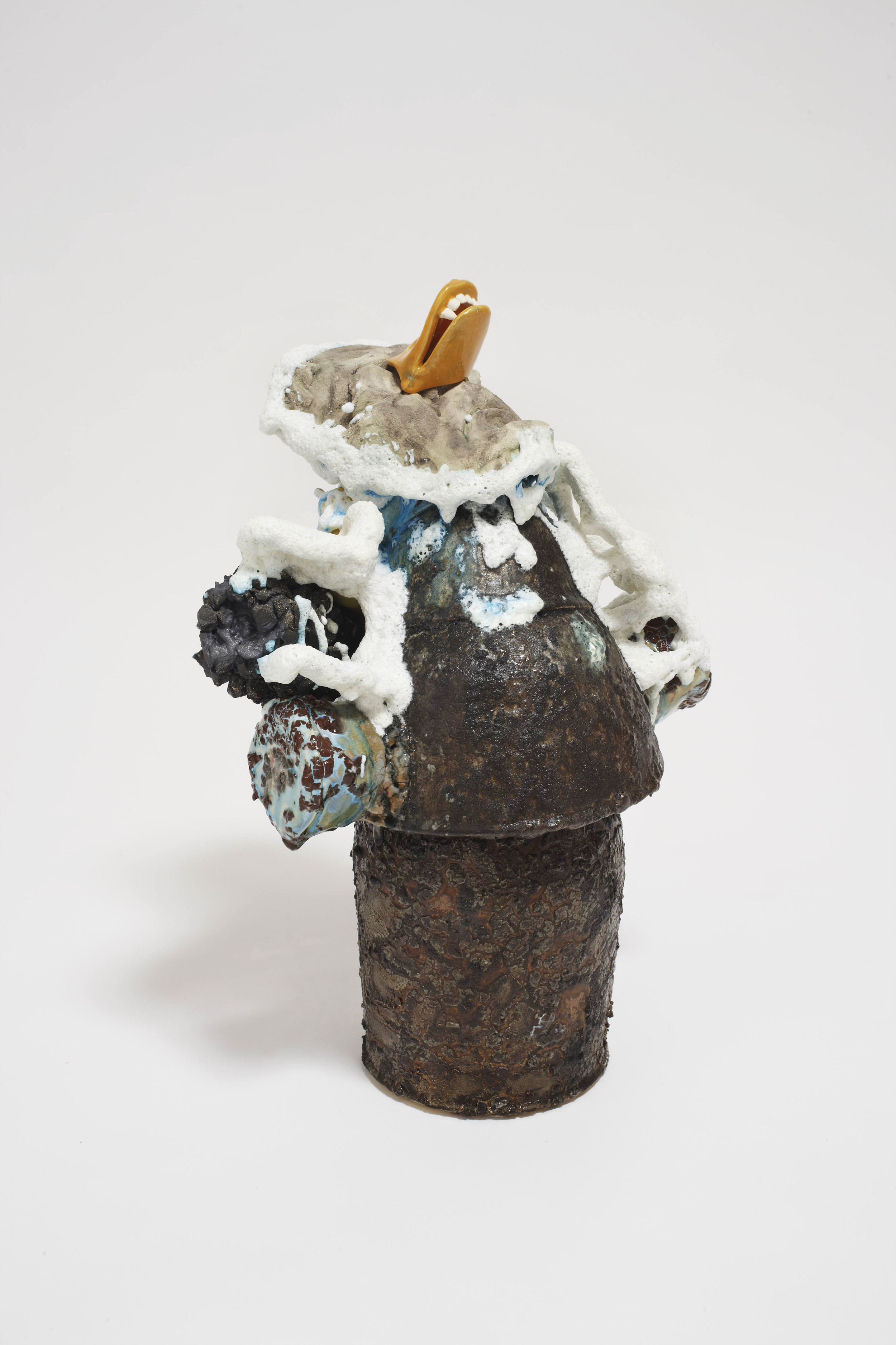 Paul Krause   Untitled (duck bill) , 2012           Ceramic   21 x 13 x 9 inches