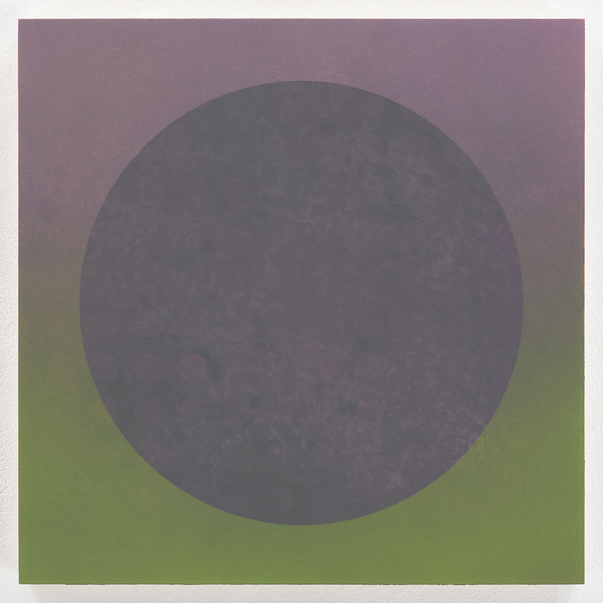 Peephole , 2013-4  Acrylic on panel  12 x 12 inches