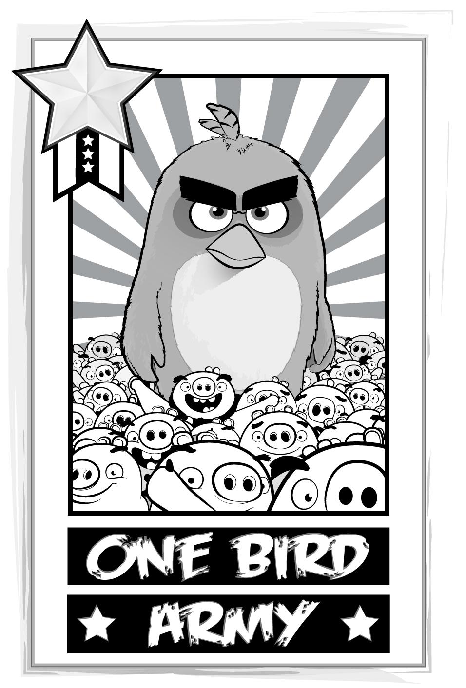 Angry Birds award Mock up