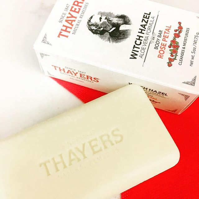Thayers Body Bar packaging by @sabet — @thayersnatural ・・・ Soothe, cleanse, and moisturize your birthday suit. 🌹 #certifiedorganic #since1847 thank you @socialike for the photo!