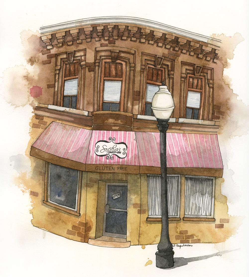 Sophia's Gluten Free Bakery in Brantford, Ontario