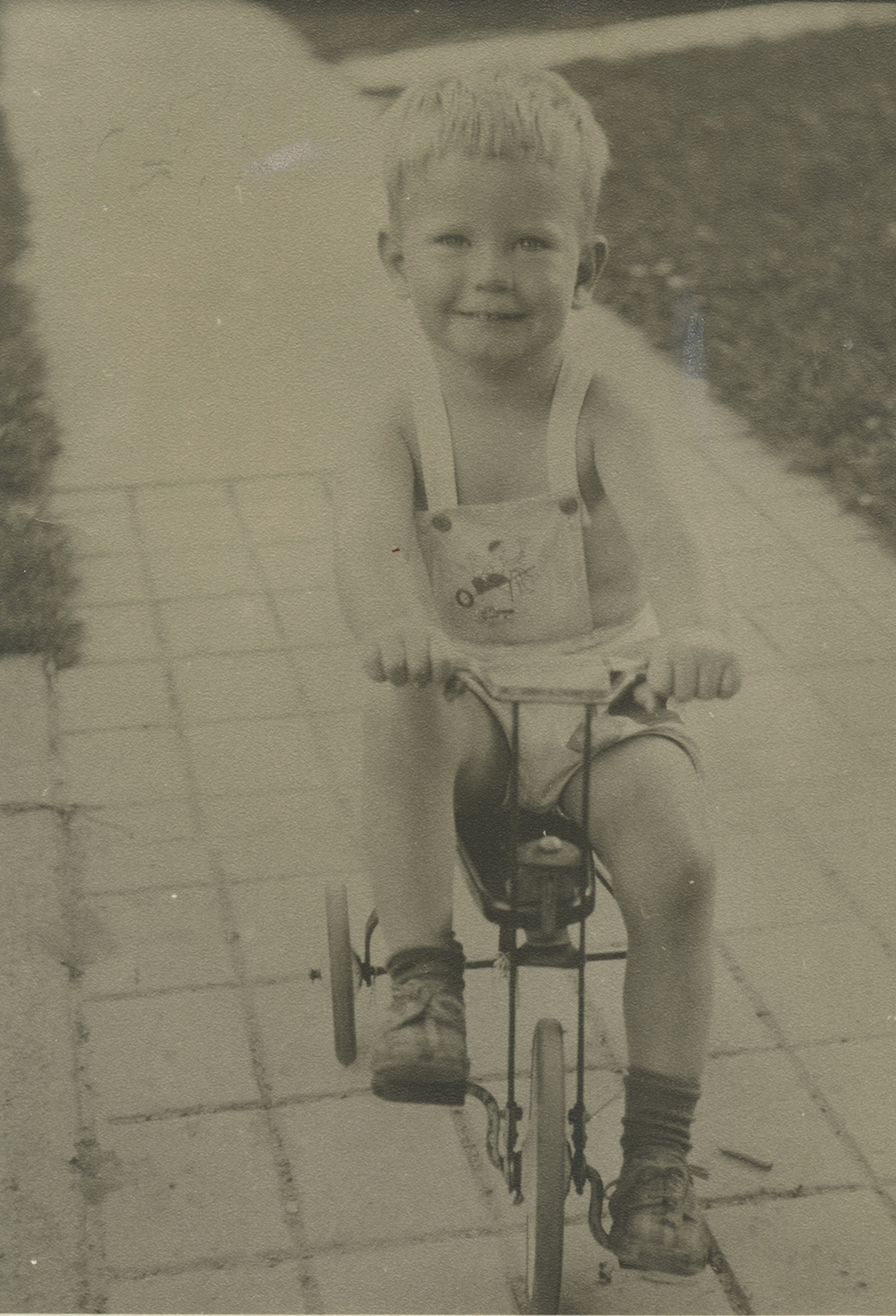 Original Scan of my father, age 3.