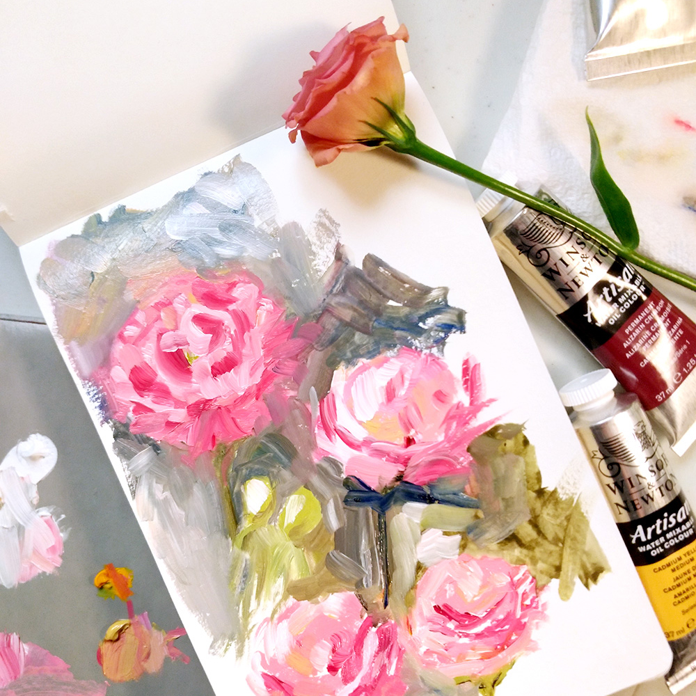 Oil Sketchbook Roses by Amanda Farquharson.jpg