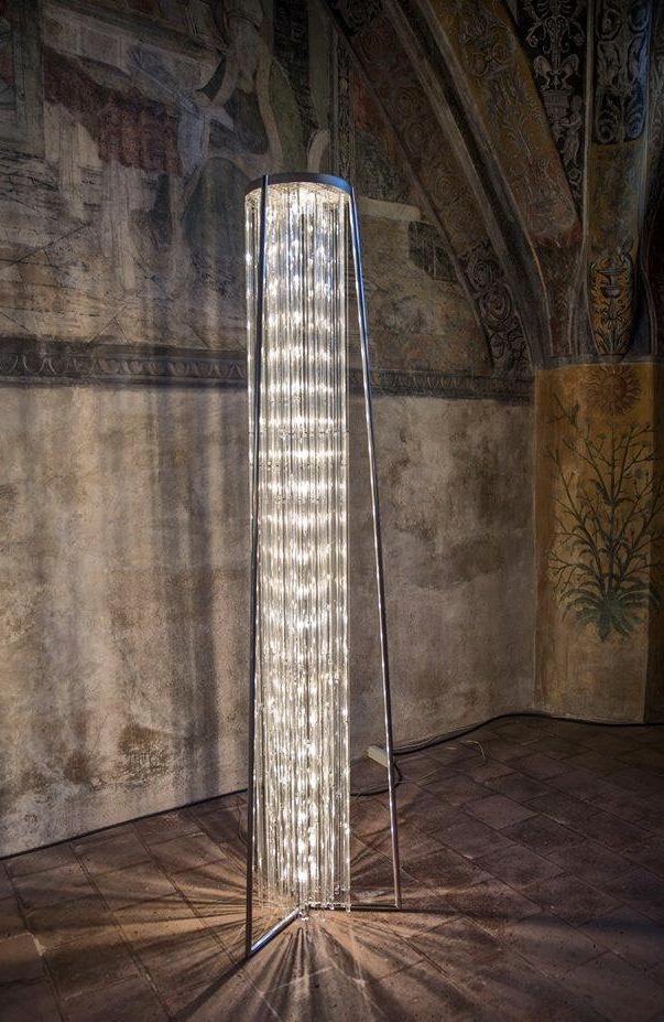 Infinity Rain Floor Lamp - Le Meduse