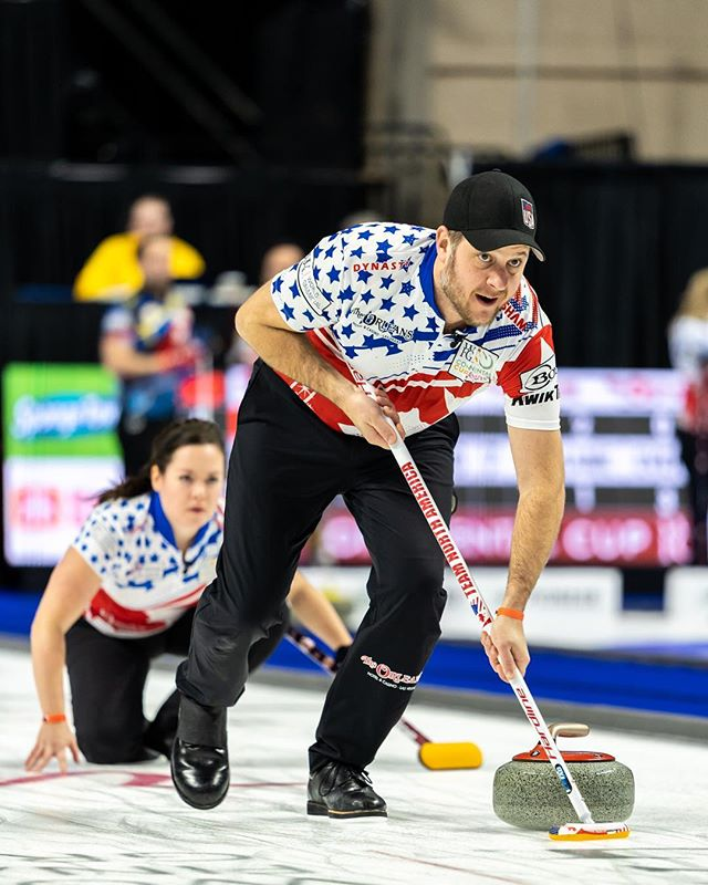 Something you've never had. Something you've never done. • • • 📀 Super Bon Bon / Soul Coughing • • • #curling #contcup2019