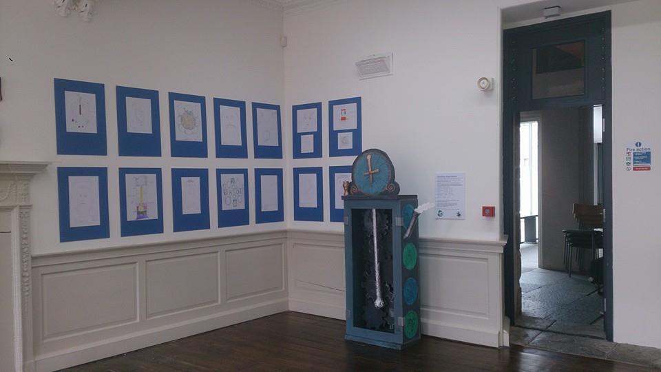 A sneak peek of the exhibition