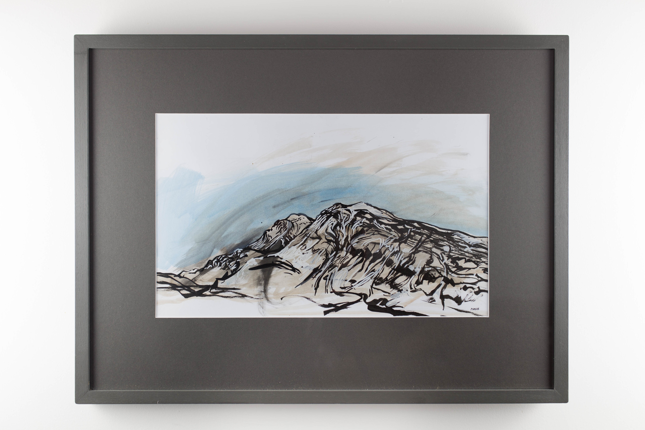 LOT 6    Claudia Massie     Arkle    Ink on paper