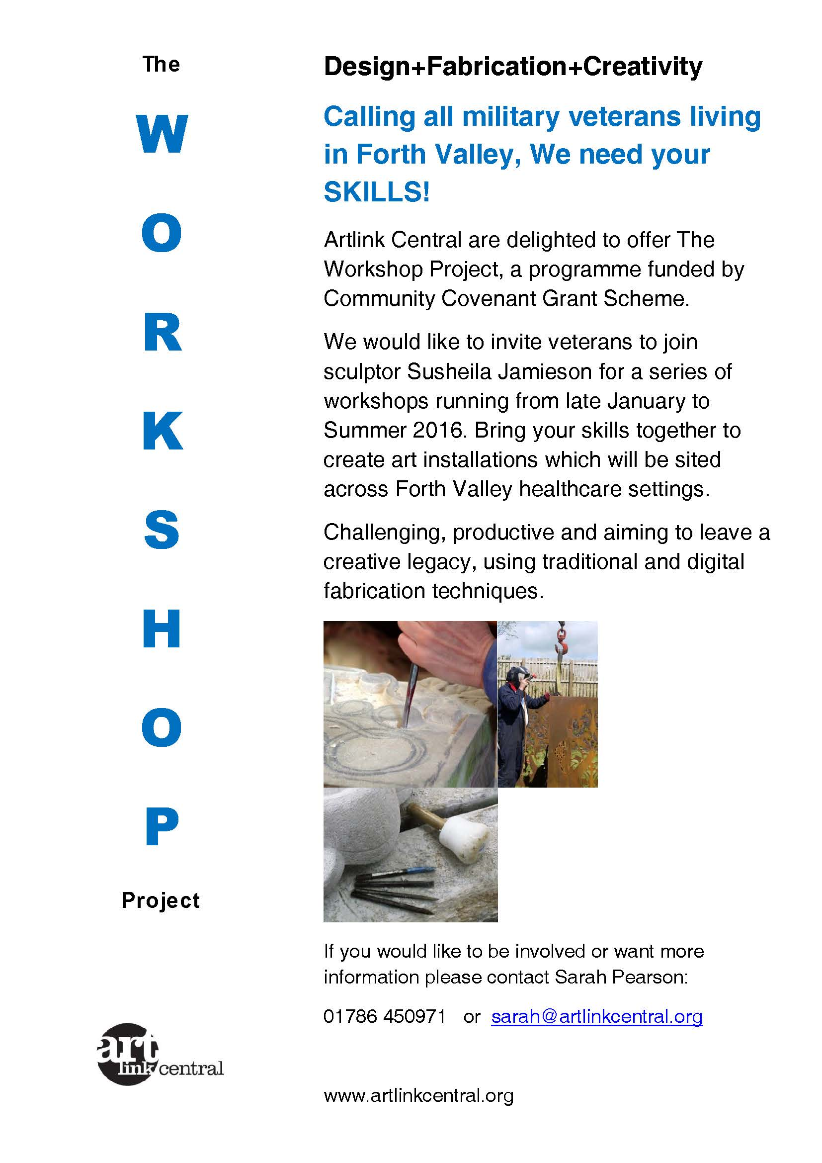 Poster for The Workshop Project