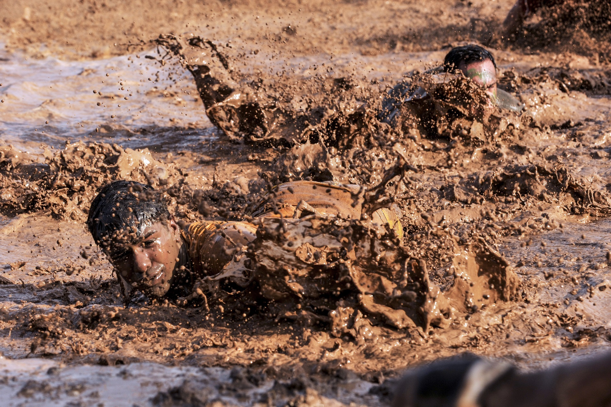 Get down and get dirty - It's one way to raise funds!