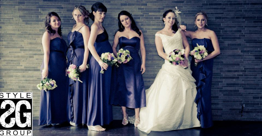 BRIDESMAIDS OR MODELS???  THESE GIRLS ARE FAB!