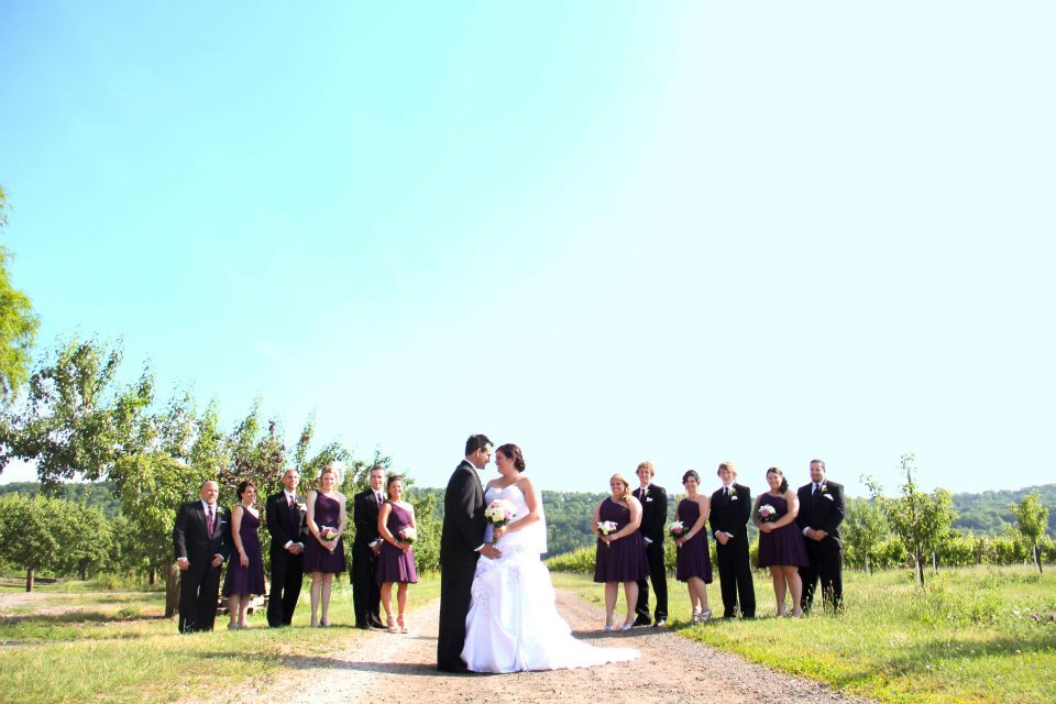 weddings at winona vine estates, flowers