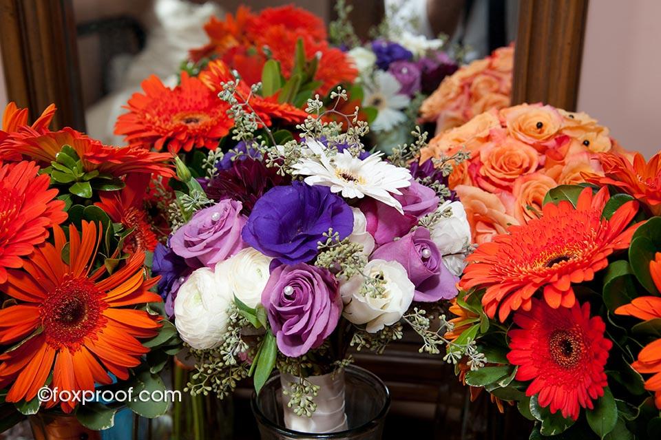 GERALDOS WEDDING, BURLINGTON FLOWERS