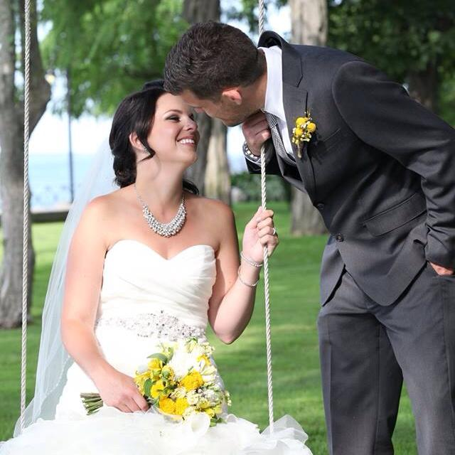 """- JAENESSA & MIKE-   """"I can't thank you enough for creating such beautiful bouquets for myself and my girls! You brought my vision to life and made flowers one of the easiest decisions during the wedding process! I would highly recommend you to anyone getting married in the future! Thanks again!!"""""""