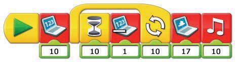 example of Lego programming language