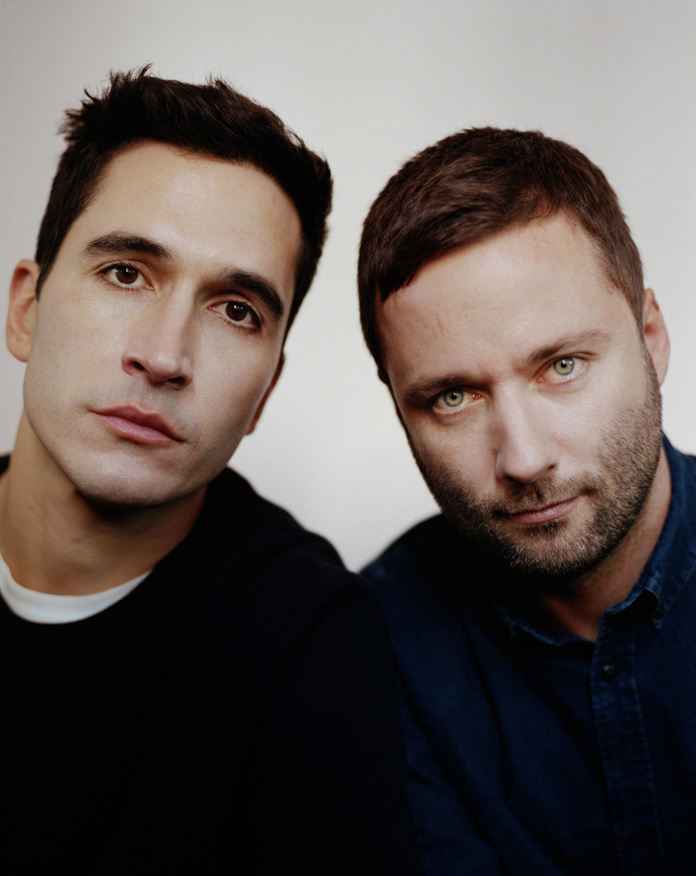Jack + Lazaro of Proenza Schouler Crash Magazine editorial