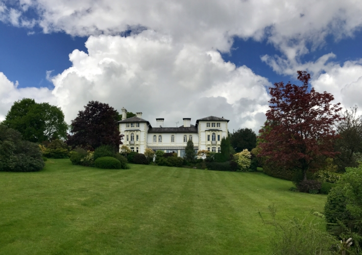 Falcondale Hotel from the garden. ©2017 seanwalmsley