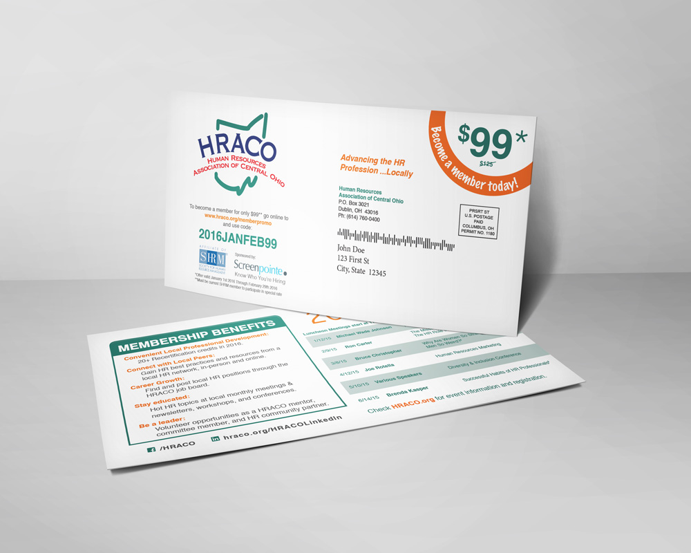 HRACO SHRM At Large Mailer
