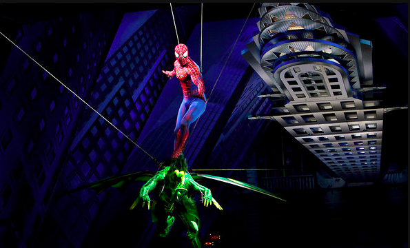 George Tsypin's set for Spider-Man: Turn Off the Dark