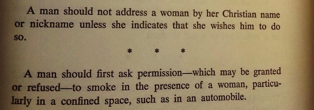 Etiquette & Protocol  by I. Monte Radlovic (1957)