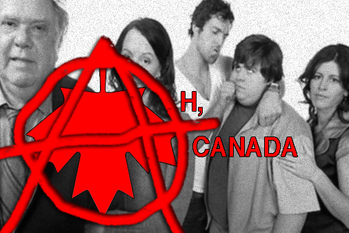 Canada is mocked, but does a fine job with the mocking on sitcoms like  Less Than Kind .